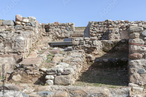Cuadros en Lienzo Ancient ruins, roman legacy,vila romana can terrers,La Garriga,Catalonia,Spain