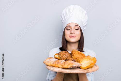 Fotografie, Obraz  Seller customer palatable gourmet service industry people professional rack concept