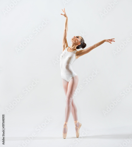 Fotografie, Obraz  Ballerina (on grey version)
