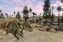 Centrosaurus Landscape