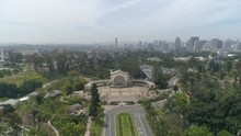 Aerial Shot Of The Spreckels Organ Pavilion