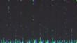 Unique Design. Abstract Digital Animation. Pixel Noise Glitch Error Video Damage