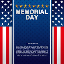 Happy Memorial Day Theme Background