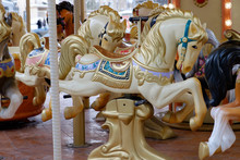 Carousel In Moscow, Horses