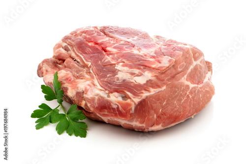 Fotobehang Vlees mięso wieprzowe karkówka