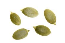 Pumpkin Seeds Or Pepitas, Isol...