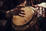 ethnic percussion musical instrument jembe