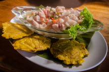 Traditional Costa Rica Ceviche
