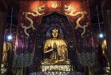 Buddha Inside Temple, China