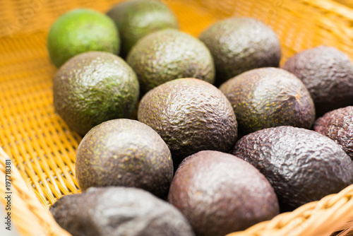Photo sur Plexiglas Zen pierres a sable Avocado also refers to the Avocado tree's fruit, which is botanically a large berry containing a single seed. Avocados are very nutritious and contain a wide variety of nutrients.