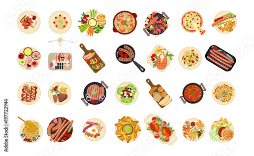 various food dishes - 197722944