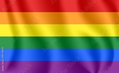 Valokuva  Gay flag