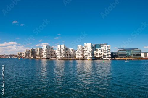 Fotografia, Obraz  Skyline of Copenhagen in Denmark