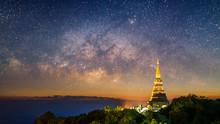 Panorama View Of Pagoda In Doi...