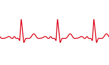 Medical ECG Or EKG Pulse Elect...