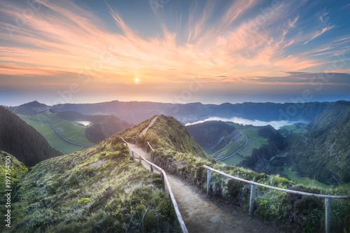 Foto auf Gartenposter Gebirge Sao Miguel Island, Azores