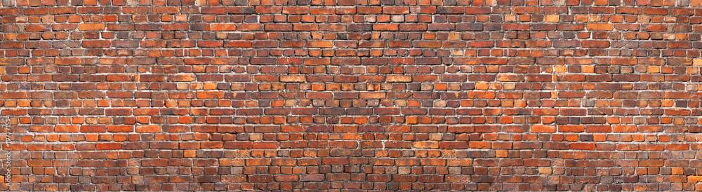Fototapety, obrazy: brick wall background, grunge texture brickwork old house
