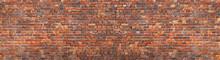Brick Wall Background, Grunge Texture Brickwork Old House