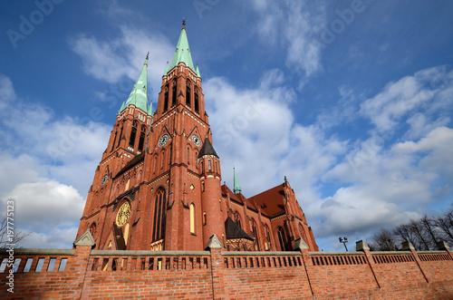 Fotografie, Obraz Cathedral in Rybnik (Poland)