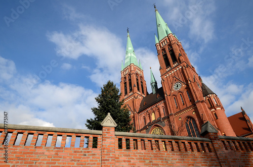Canvastavla Cathedral in Rybnik (Poland)