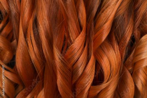 Fotografie, Tablou Beautiful curvy red hair