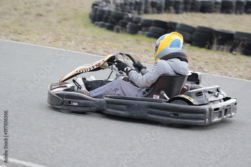 Karting Canvas Print
