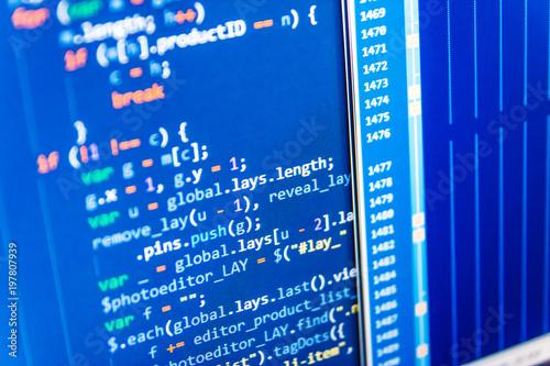 Python programming developer code  Modern web network and internet