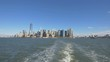 Manhattan seen from a ferry