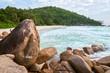Anse Georgette beach Praslin, Seychelles