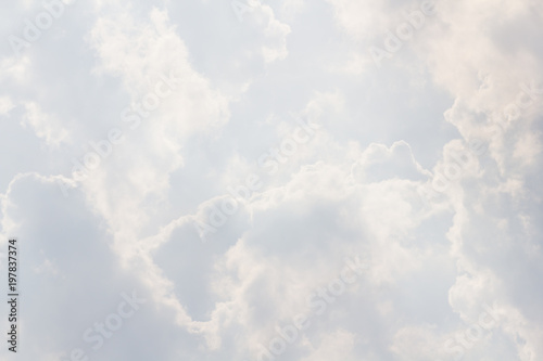 Fototapeta chmury white-sky-background-white-cloud-texture-concept-weather-forecast-cloudy-rain-aviation-weather