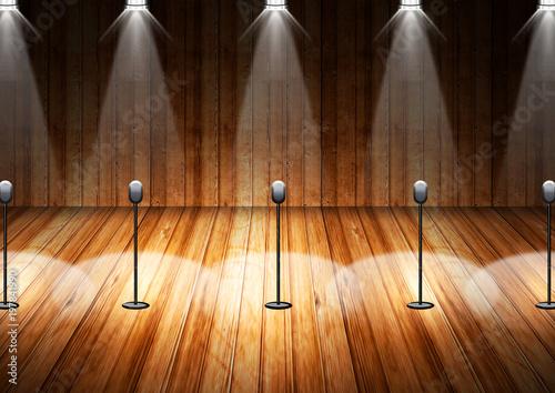 Láminas  照明装置と舞台