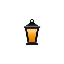 Fanoos Lantern Graphic Design Vector