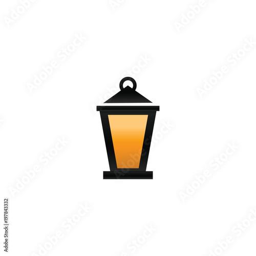Fanoos lantern graphic design vector Canvas Print