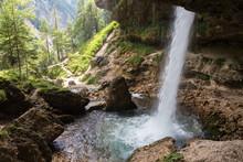 Upper Pericnik Waterfall From ...