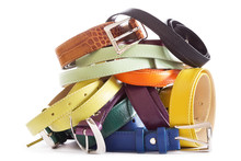 Various Types Of Leather Belts...
