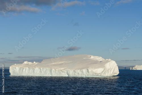 Staande foto Antarctica Tabular iceberg in Antarctica