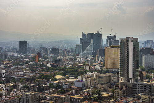 Staande foto Havana Panoramic view of historical building in Mexico City