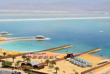 Landscape At The Dead Sea, Isr...