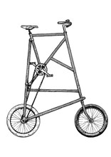 Illustration Of Tall Bike