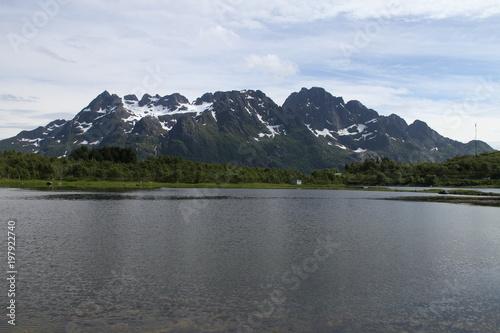 Fotografie, Obraz  Lofoten peninsula, Norway