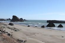 Coastline Of Oregon