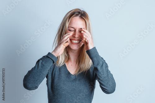 Fototapeta  lacrime di gioia