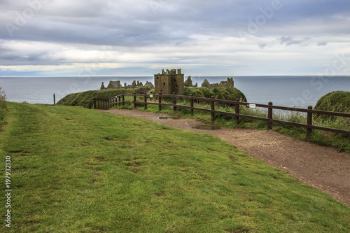 Photo Dunnottar Castle, Stonehaven, Aberdeenshire, Scotland, UK