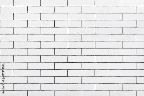 Pinturas sobre lienzo  White ceramic tile wall background