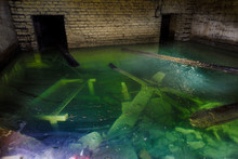Flooded Room In Abandoned Mine