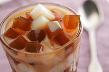 Milk And Coffee Jelly