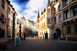 Luxembourg city - Duke's Palace on a sunny day