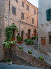 Fototapeta na wymiar Recanati, Italy