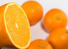Frische Orange Halb Links Hint...