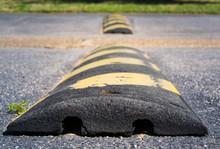 Striped Speed Bump